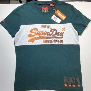 SuperDry XL dark green new tee shirt